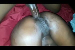 Sexo anal con enorme coño